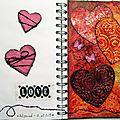 Challenge artjournal et gribouillage #13 amour (36)