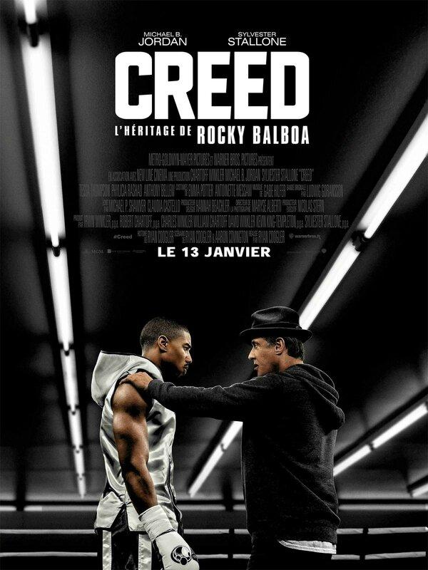Affiche CREED - L'héritage de Rocky Balboa