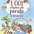 Usborne - 1001 choses de pirates à trouver