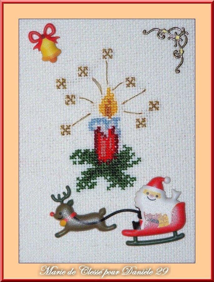 Echange ATC Noël Au Papotage des Dames Ange Marie de Clessé pour Danièle 29 1