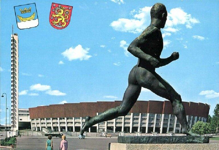 CPM Statue Paavo Nurmi Helsinski