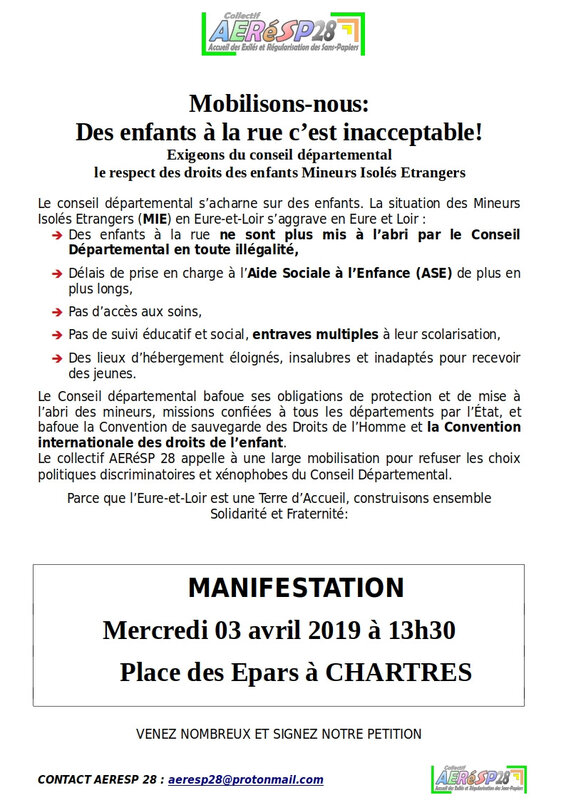 Tract pour le 3 avril