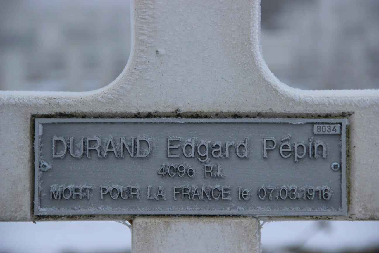 DURAND Edgard Pépin