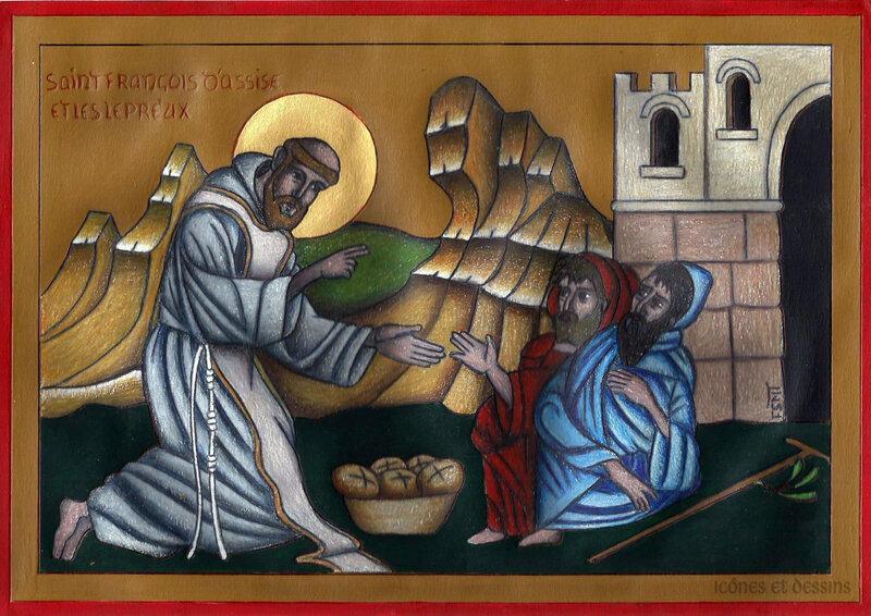 St François et les lépreux 2-001