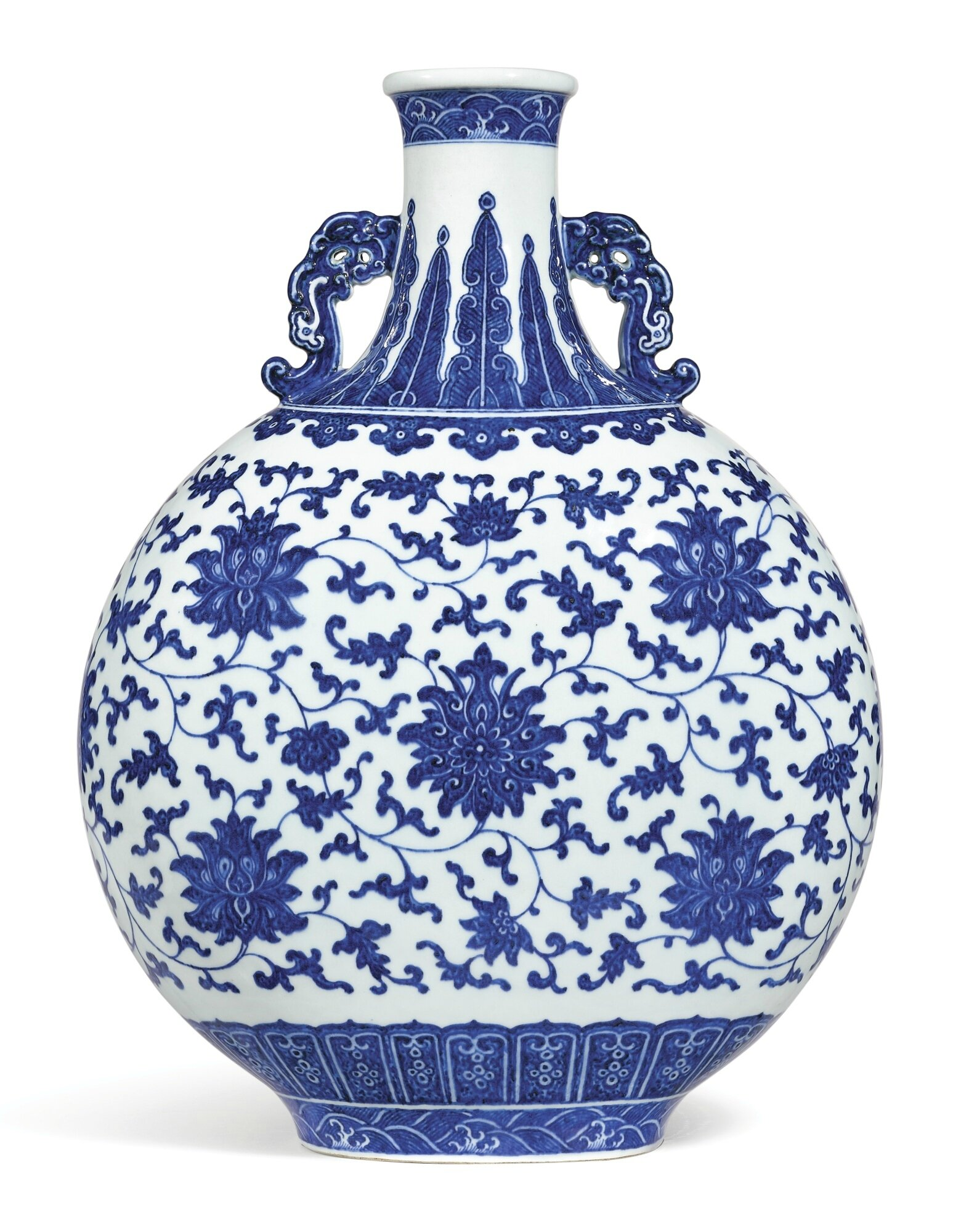 Chinese Old Marked Blue and White Dragon Pattern Porcelain Jar