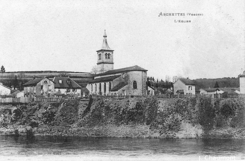 Archettes, l'église