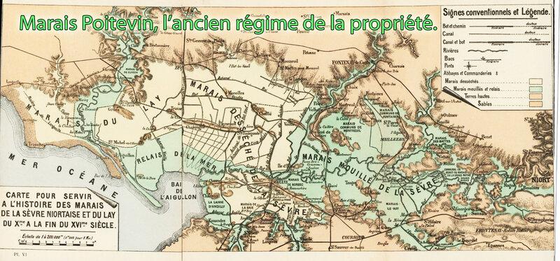 Marais Poitevin, l'ancien régime de la propriété