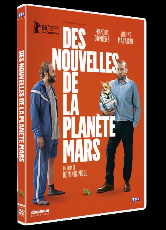 DES NOUVELLES DE LA PLANETE MARS_DVD_3D