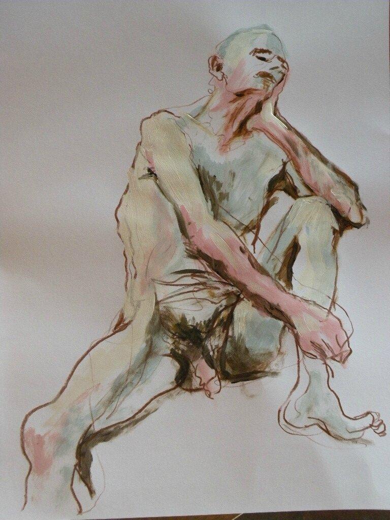 Tableaux de nus homme