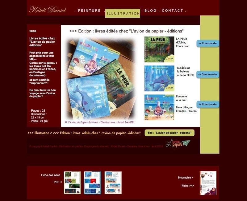 site katell ed avion papier