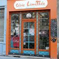 Série limithée paris restaurant devanture vitrine photo jeu de mot