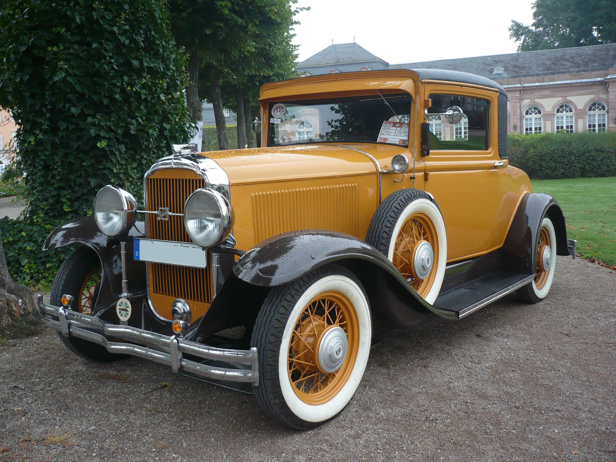 BUICK Model 56S Fisher 2door coupé 1931 Schwetzingen (1)