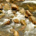 Riviere dans les montagnes Qing Lin Shan