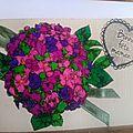 Un bouquet de fleurs pour la fête des mères