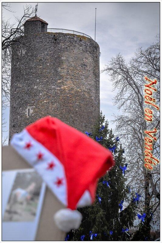 Noël en Vendée tour mélusine de Vouvant (2)