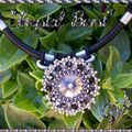 Crystal burst rivoli black diamond