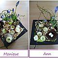 atelier floral Pâques 2010