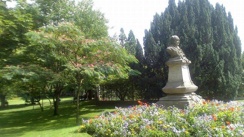 Brigitte jardin du Luxembourg