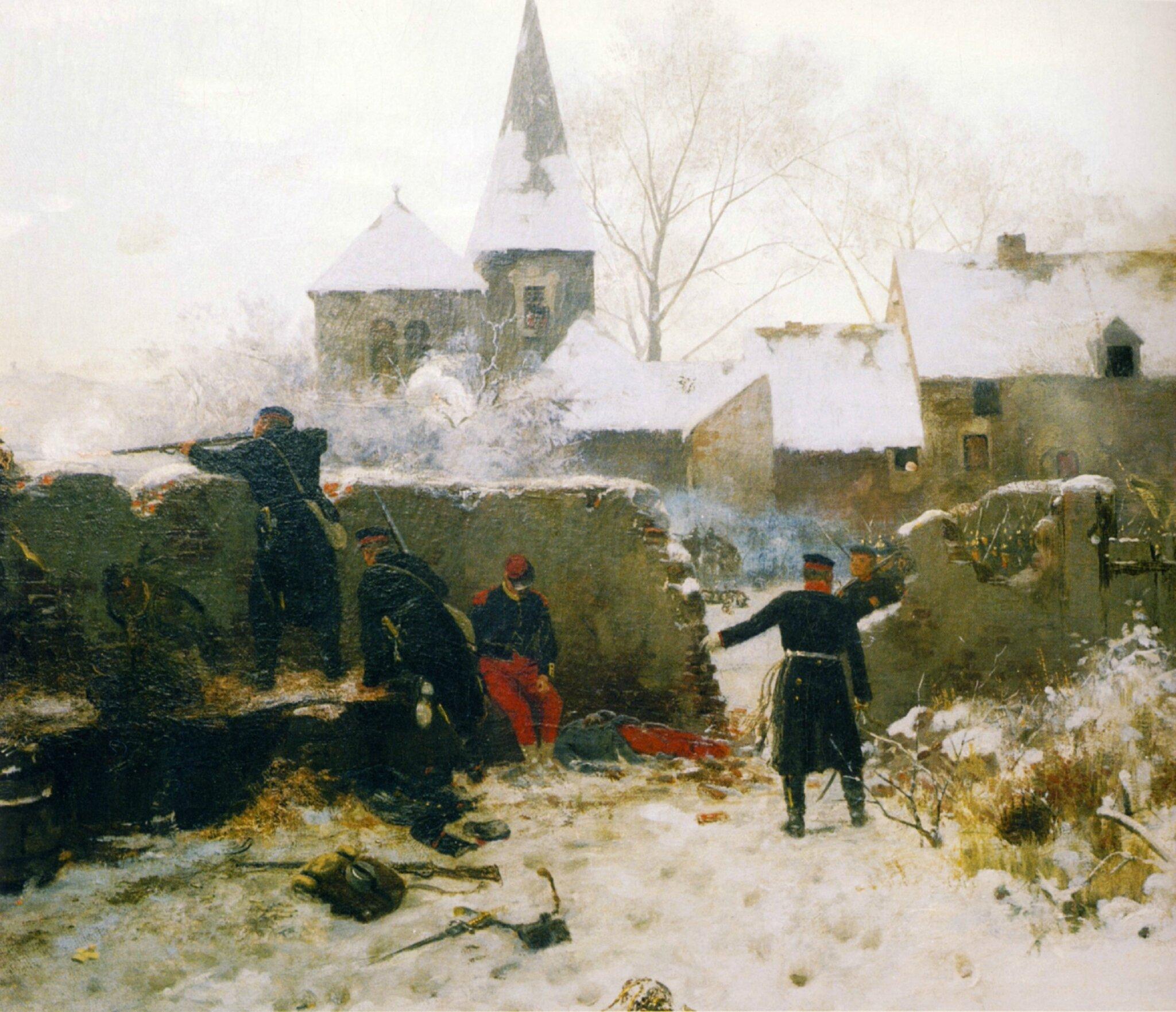 Dittmir, scène de la guerre franco-prussienne