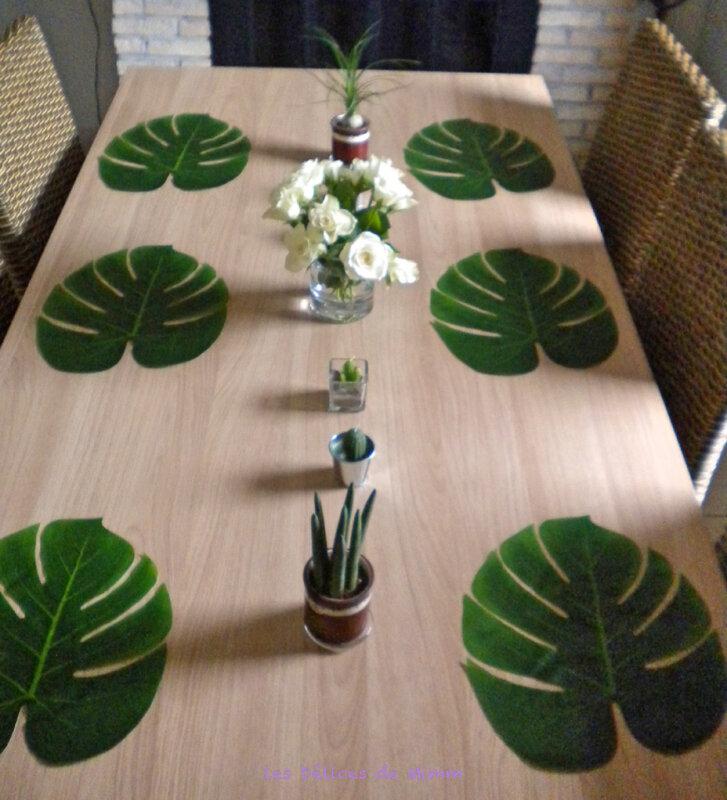 Ma table Urban Jungle 9