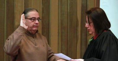 Scott Big Horse, nouveau chef principal de la nation Osage prête serment