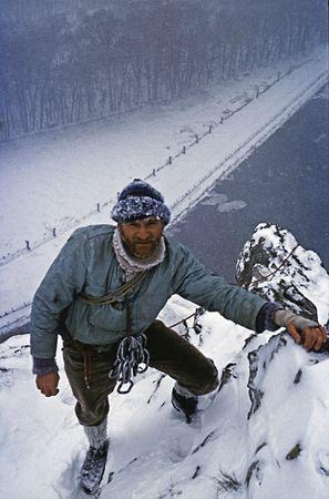 1958 JBourgeois a_ Freyr sous la neige