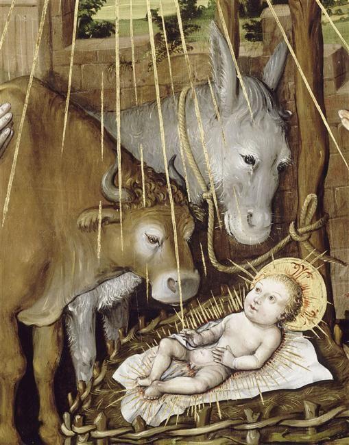 Jacquelin de Montluçon - L'Adoration de l'Enfant
