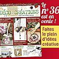 Atelier deco & creations n°36 est en vente !