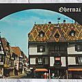 Obernai - place de l'étoile