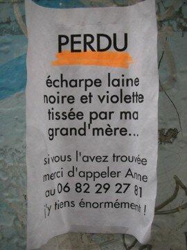 Cri d'amour...