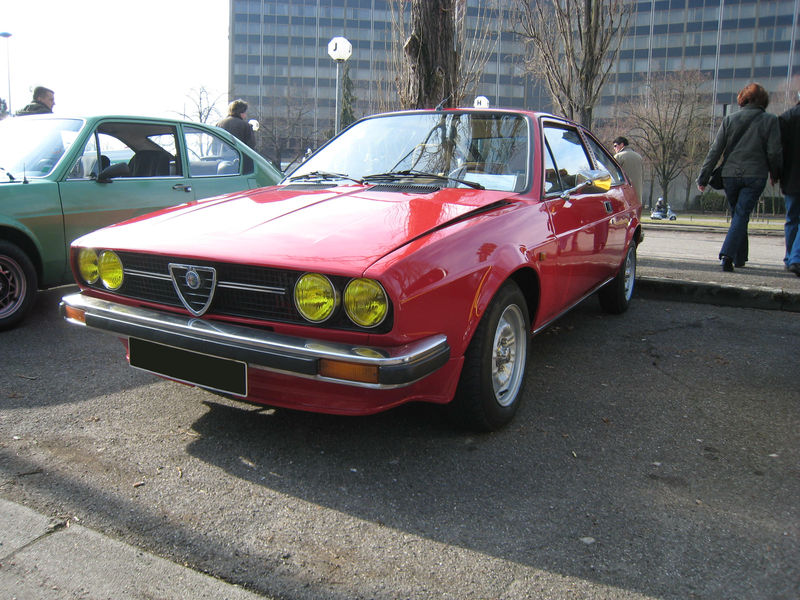 Alfa romeo sprint veloce 1