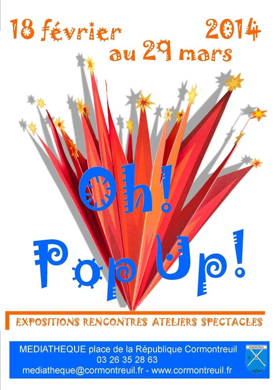 affiche oh pop up