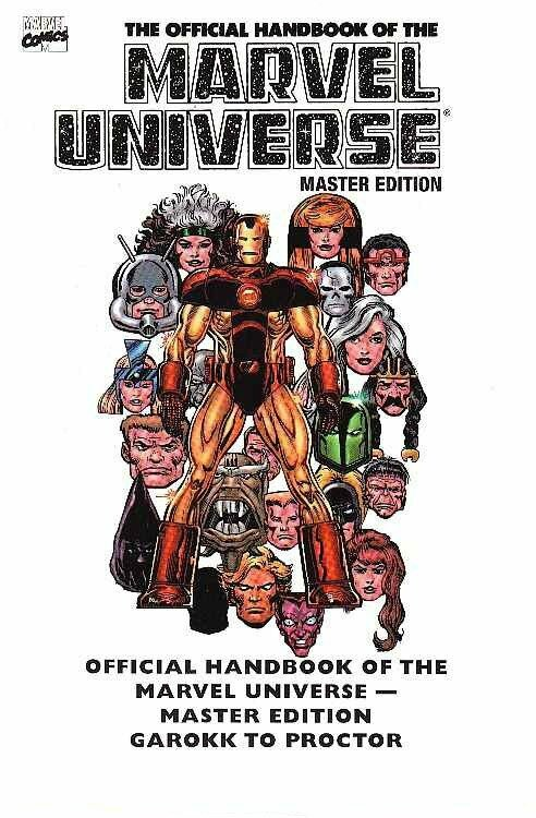 essential official handbook of the marvel universe vol 2 master edition TP