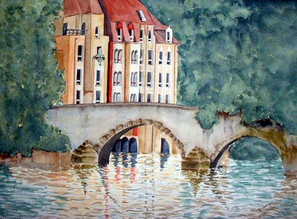 Le Pont St Marcel à Metz
