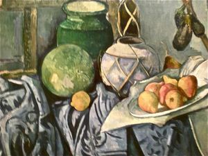 Cézanne- nature morte