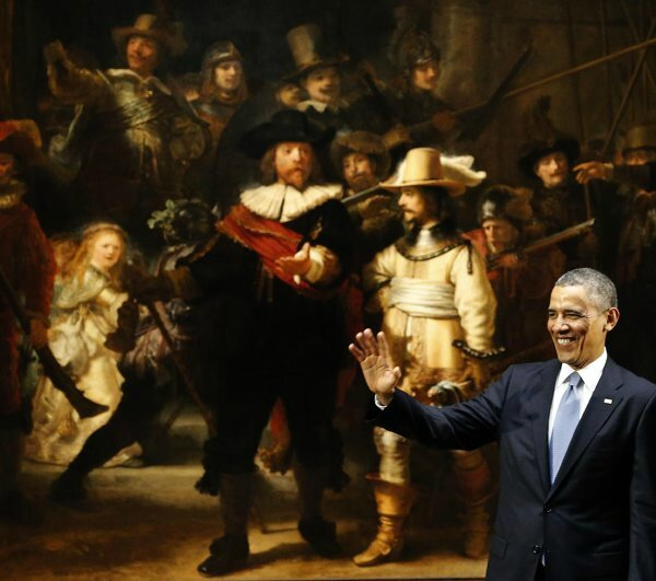Obama and old, very old, Europe
