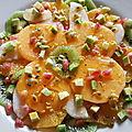 Une salade de fruits pour affronter les rigueurs de l'hiver