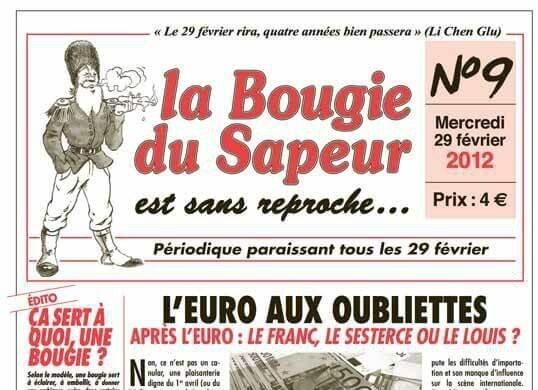 Journal La Bougie du Sapeur n°9 2012 R