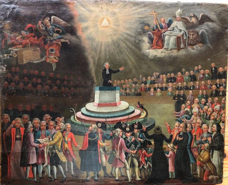 Le 27 janvier 1791 à Mamers : serment des prêtres.