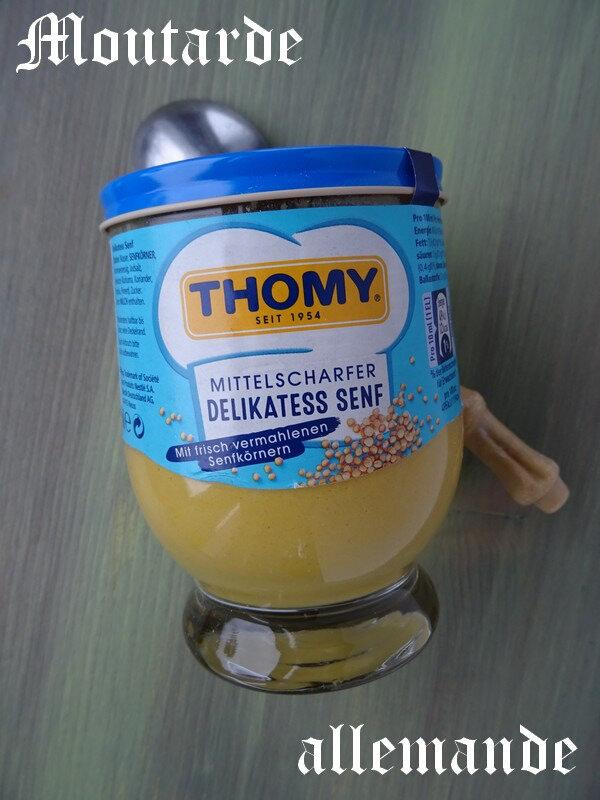 moutarde allemande