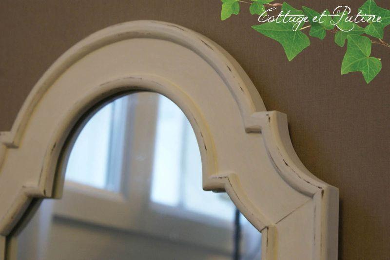 miroir relooké client cottage et patine zoom