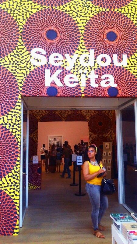 entrée expo seydou keita grand palais