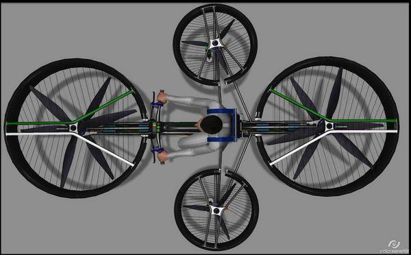 f bike velo volant 3