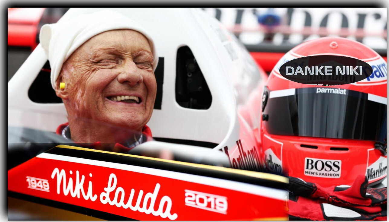 NIKI LAUDA - Tribute to the Legendary Three-Time Formula 1 World Champion (1949-2019)