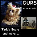 AA-OURS et autres amis -TEDDY BEARS AND MORE