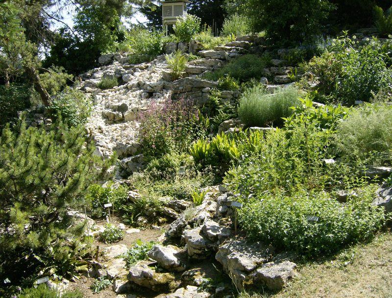 Jardin botanique la rocaille