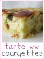 tarte aux courgettes sans pâte weight watchers ww - index