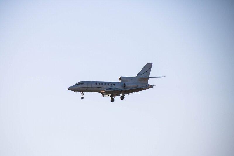 Dassault Falcon 50 (avion privé)
