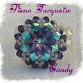 Bague fiona turquoise