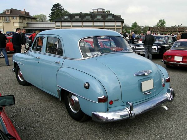 plymouth special deluxe 4door sedan 1951 1952 4
